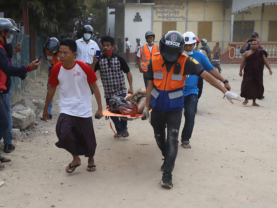 Zahlreiche Menschen wurden verletzt