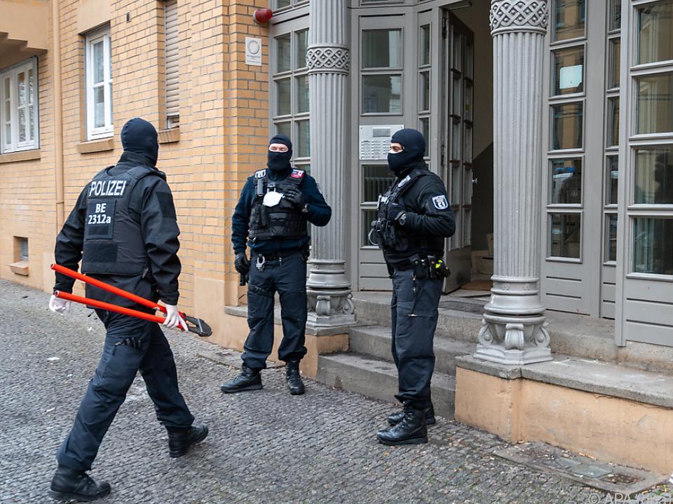 Zwei Verdächtige wurden verhaftet