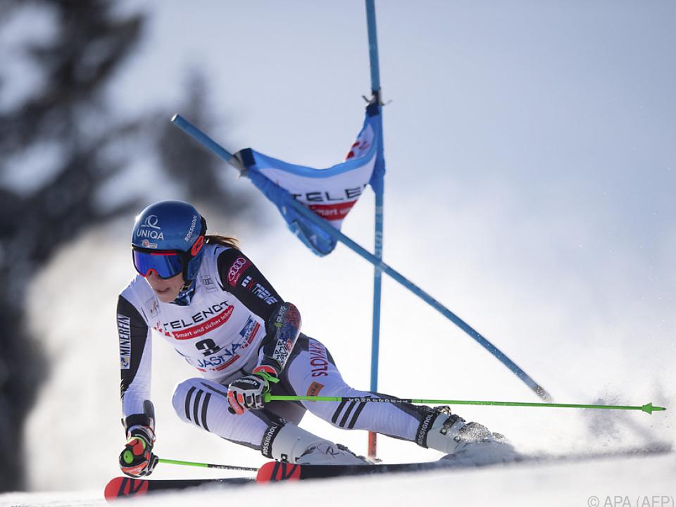 19. Weltcup-Erfolg für Petra Vlhova
