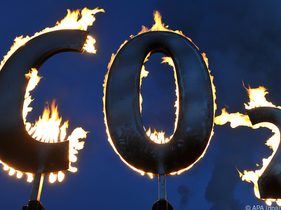 2020 wurde deutlich weniger CO2 in die Luft geblasen