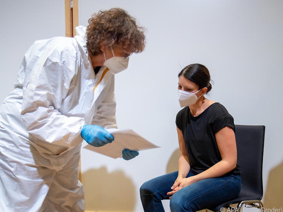 42.500 Personen in Schwaz bisher geimpft