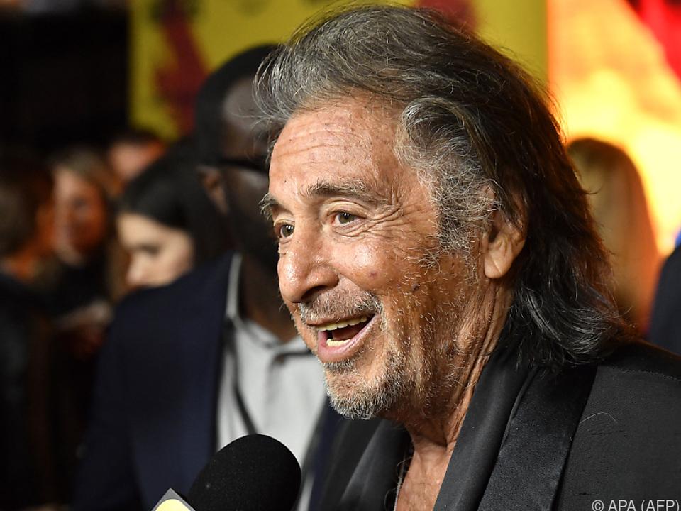 Al Pacino sorgt für Lacher