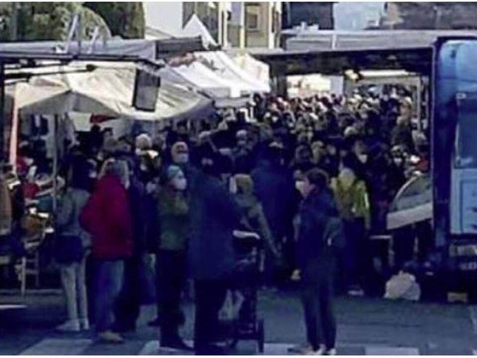 Alto Adige Gedränge Markt