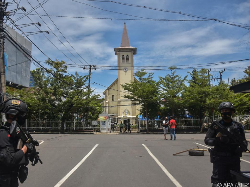 Angriff auf Kirche im indonesischen Makassar