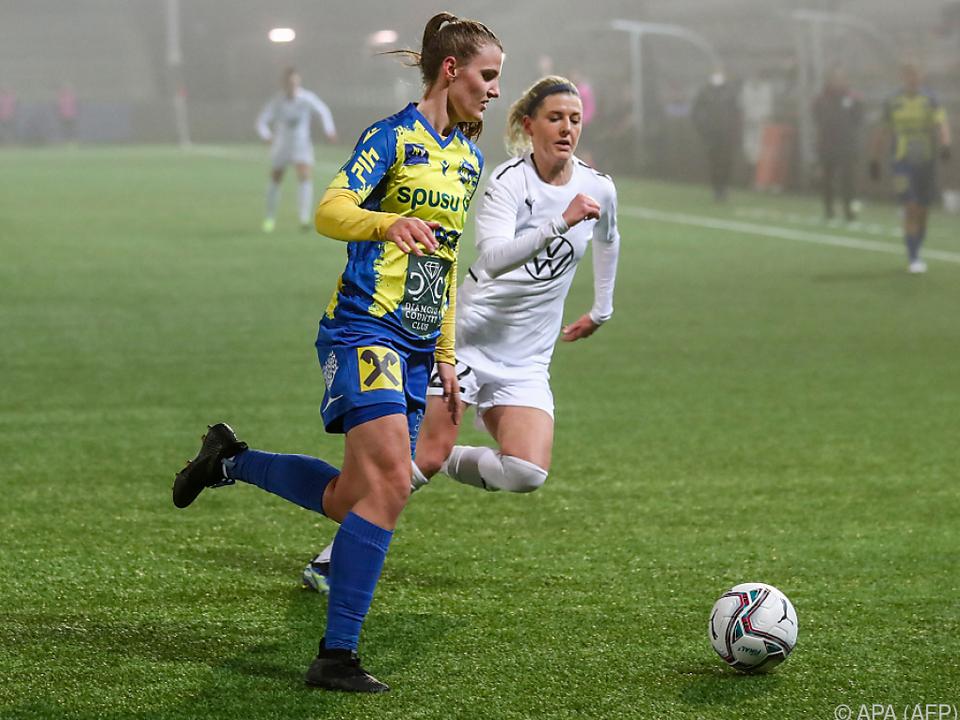 Anna Bereuter holte mit St. Pölten in Malmö ein Remis