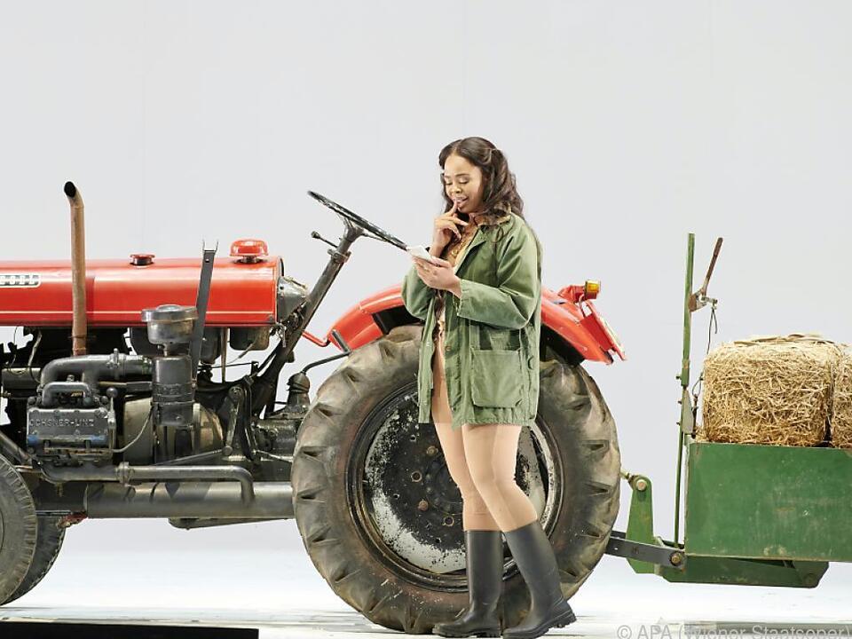 Bald muss Violetta (Pretty Yende) ihr Landcabriolet zurücklassen