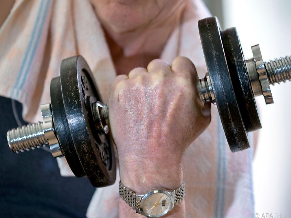 Bei Hanteln ist die Nachfrage regelrecht explodiert sport fitness gym