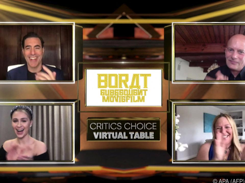 Borat Subsequent Moviefilm für US-Produzentenpreis nominiert