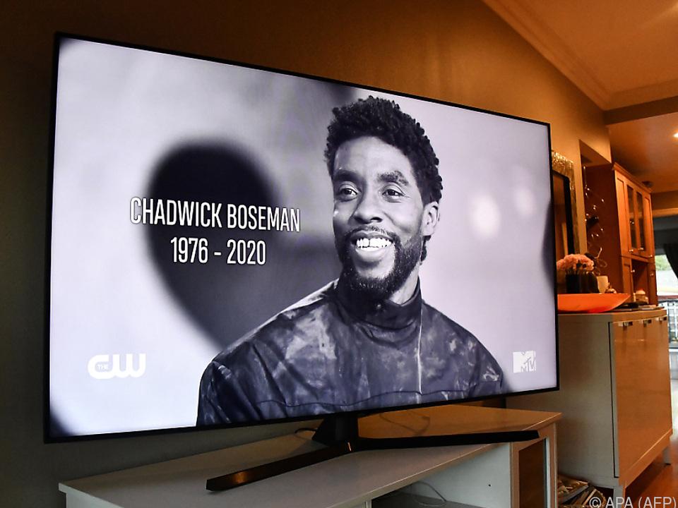 Boseman starb mit nur 43 Jahren an Krebs