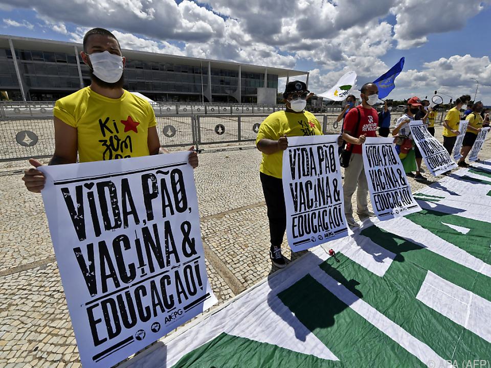 Brasilien verzeichnet 3780 Todesfälle in 24 Stunden