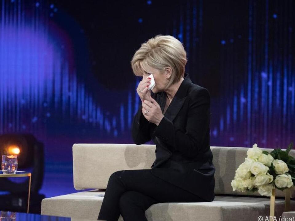 Carmen Nebel zu Tränen gerührt