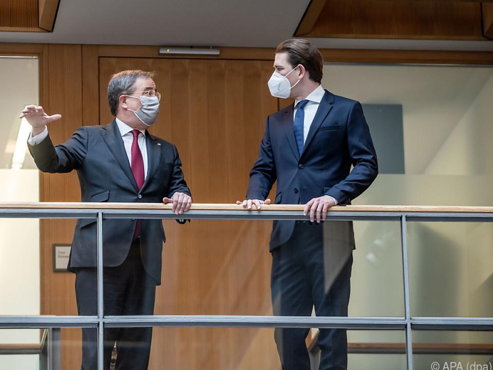 CDU- und ÖVP-Chef waren einander in vielen Dingen einig