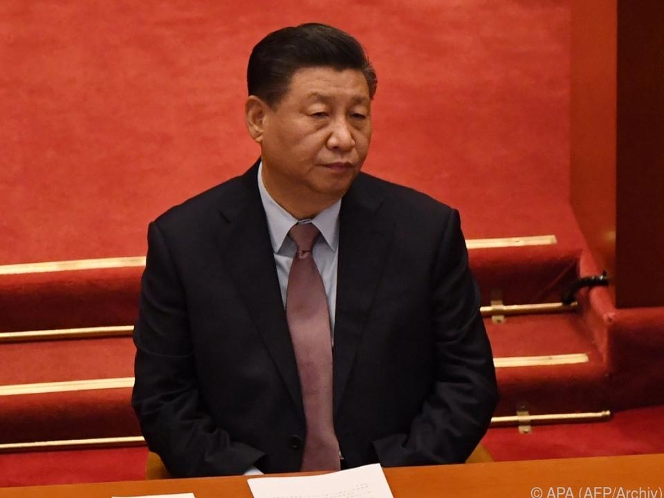 Chinas Staatschef Xi Jinping am Menschenrechts-Pranger der EU