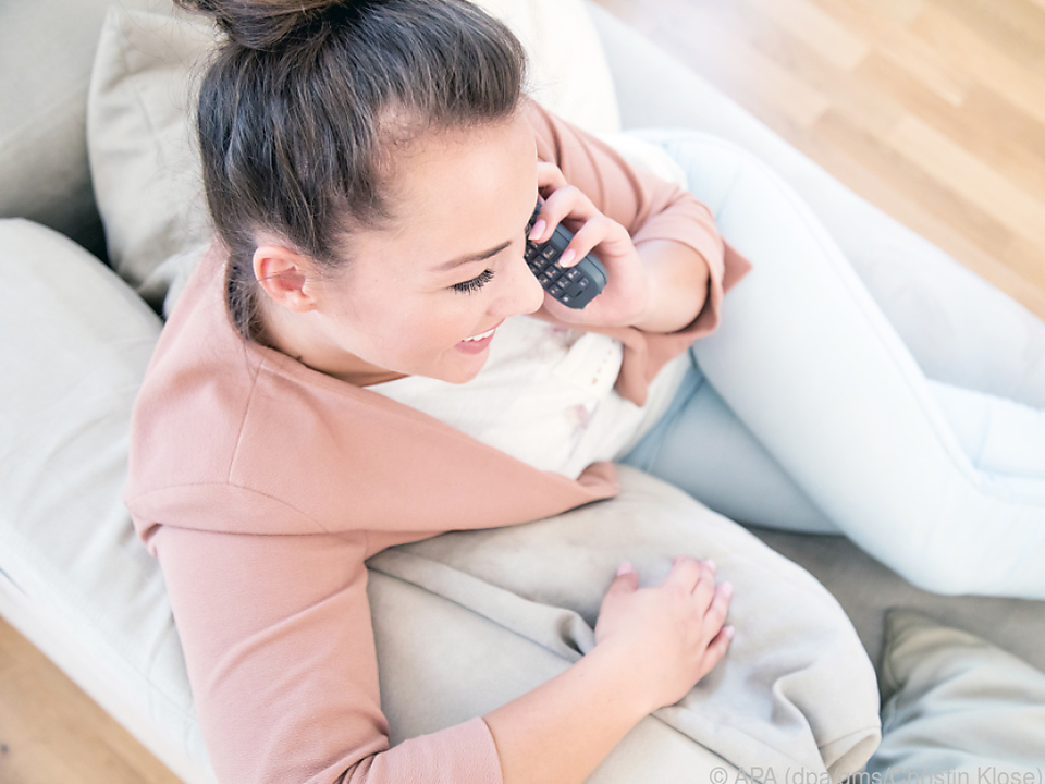 Couch & Office: Dect-Telefone lassen sich daheim universell einsetzen
