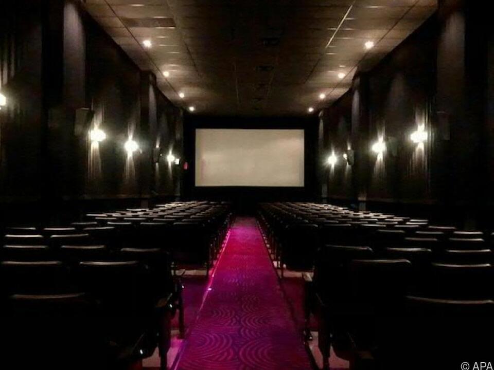 Das Angelika Cinema Center in New York bei der Wiedereröffnung
