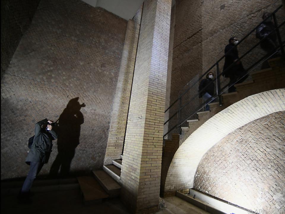 Das Mausoleum wartet nach Sanierung wieder auf Besucher