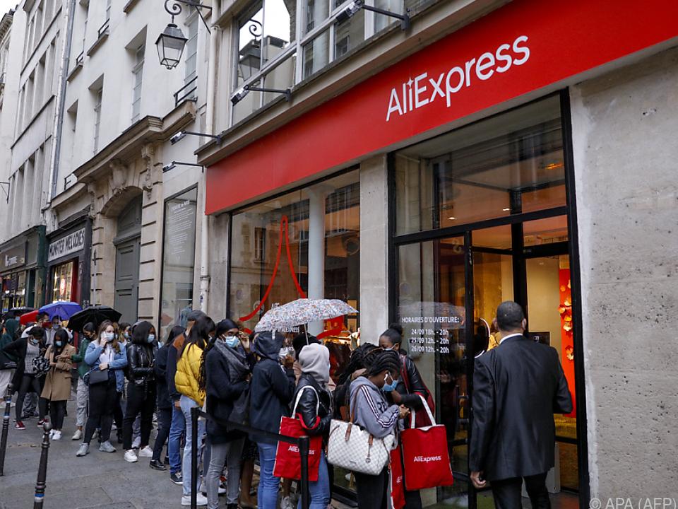 Der chinesische Online-Riese findet auch in Europa immer mehr Zulauf