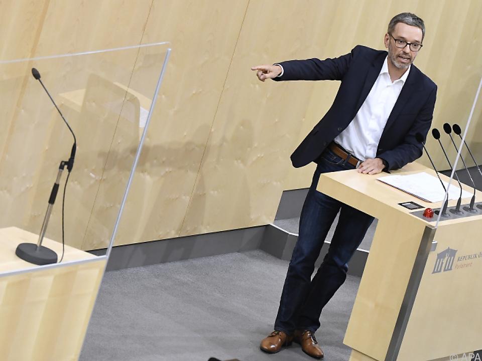 Der Kanzler ist schuld, sagen FPÖ und SPÖ