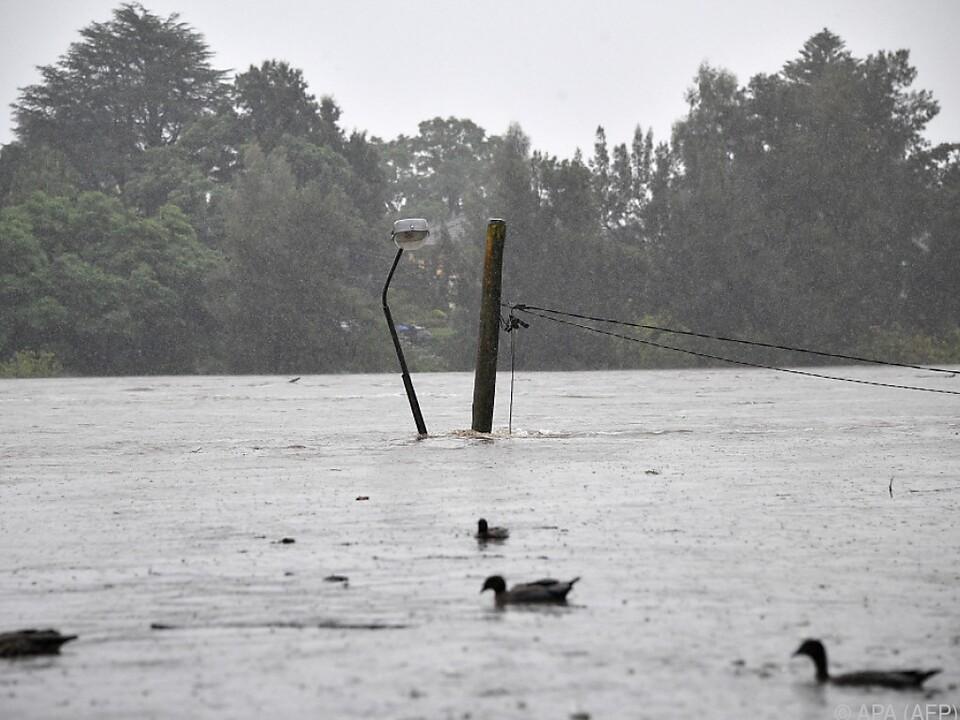 Der Osten Australiens wird von Hochwasser heimgesucht