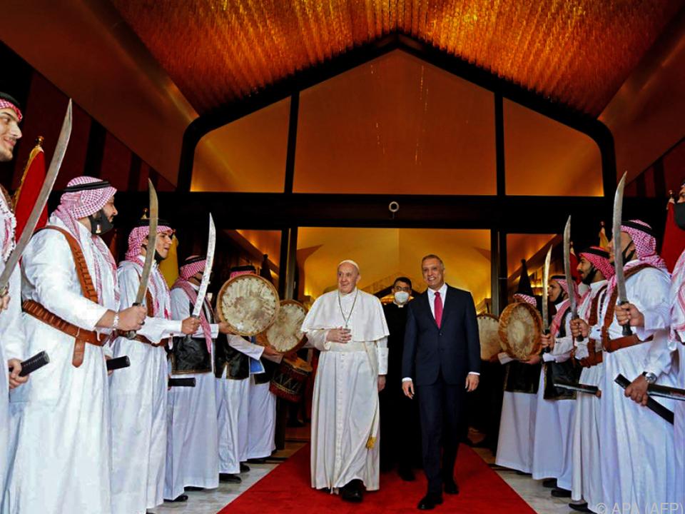 Der Papst zu Gast in Bagdad