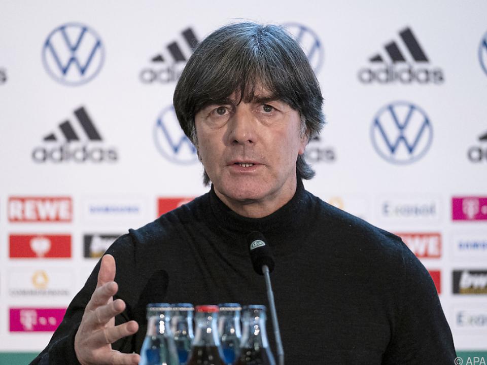 Deutschlands Teamchef Löw erklärte Gründe für baldigen Rückzug