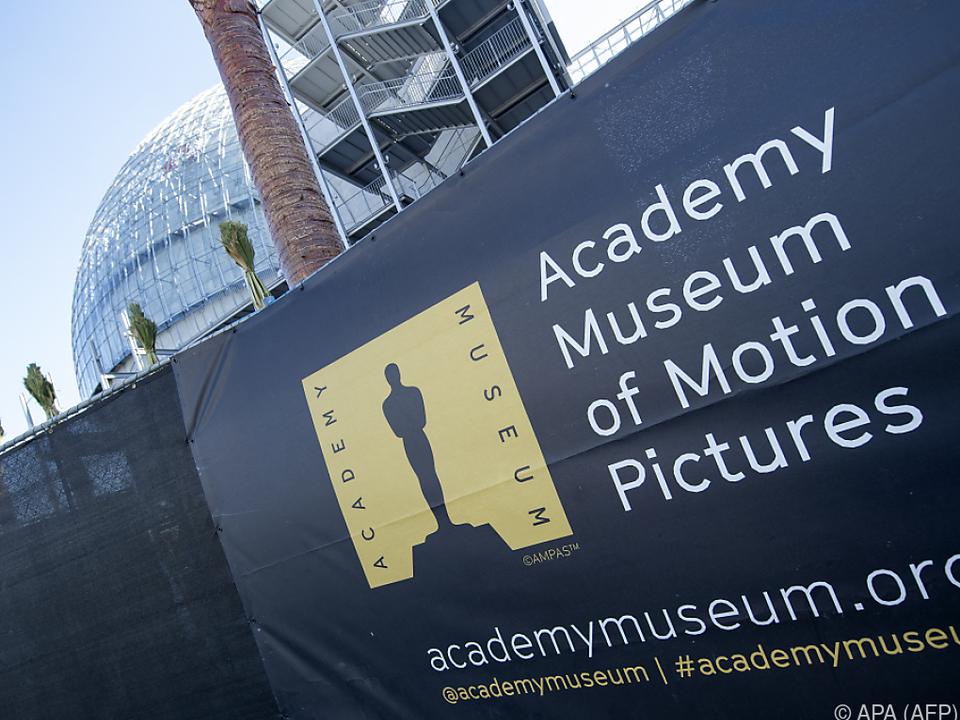 Die Baustelle des Academy Museum in L.A.