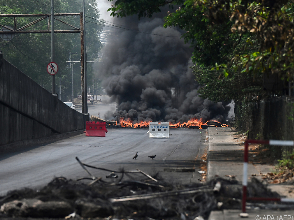 Die Lage in Myanmar spitzt sich weiter zu