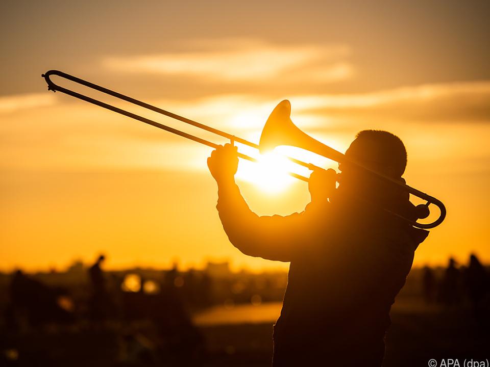 musik blasmusik sym musikkapelle Die Posaune ist im klassischen Orchester nach wie vor Männerdomäne