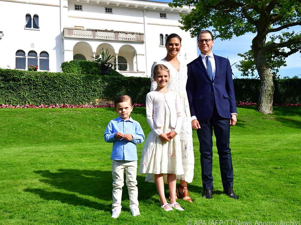 Die royale Familie befindet sich in Quarantäne