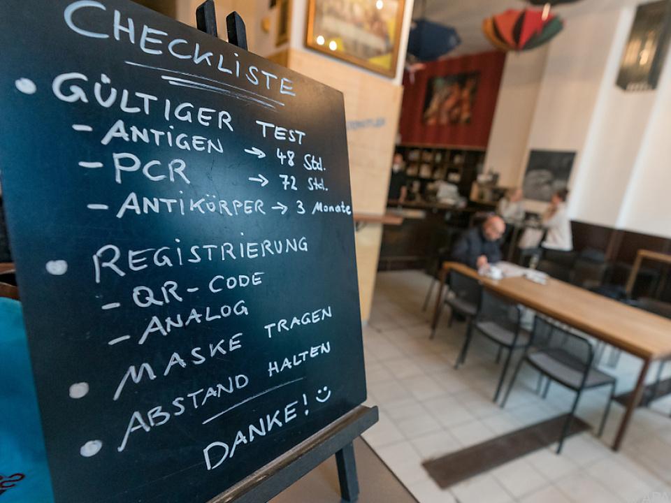 Die Vorarlberger Gastronomie darf ihre Gäste wieder bewirten.