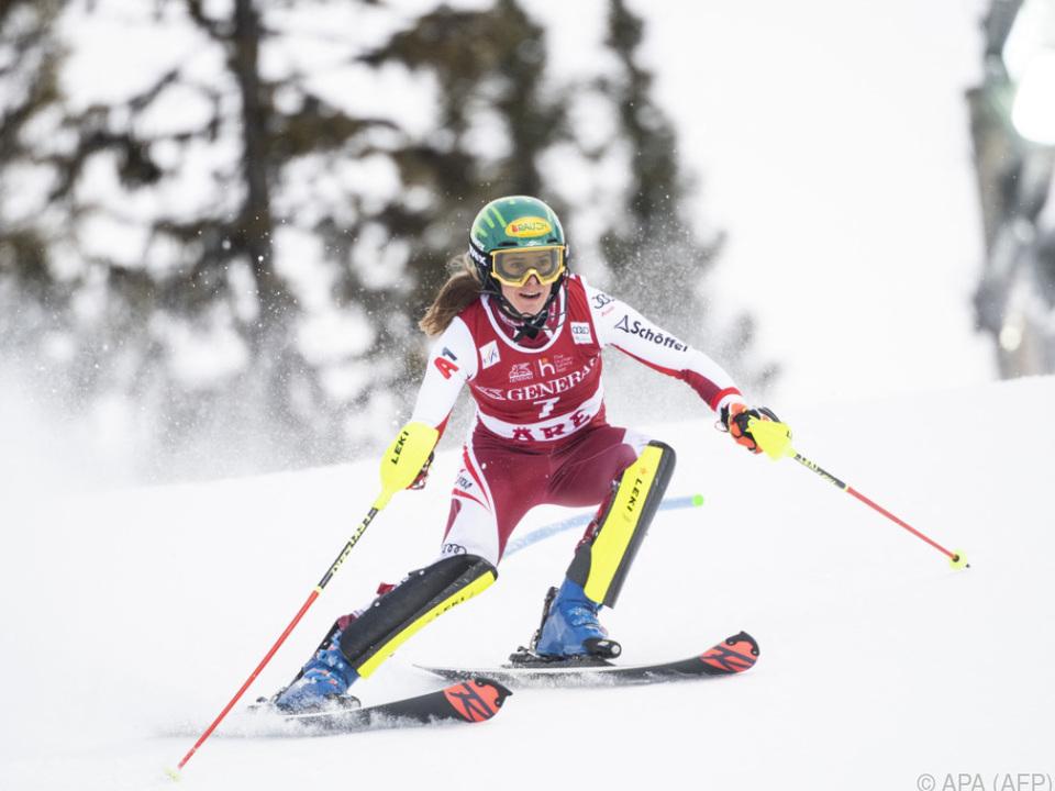 Die Weltmeisterin von Cortina gewann nun auch im Weltcup