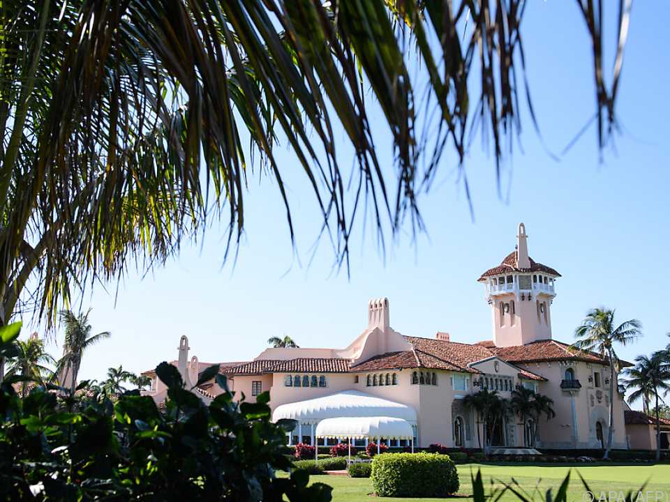 Donald Trumps Luxusresort Mar-a-Lago in Palm Beach in Florida
