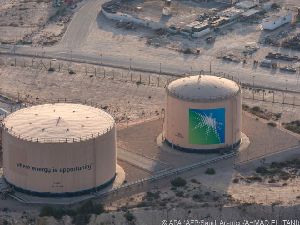 Eine Anlage von Saudi Aramco in Dhahran