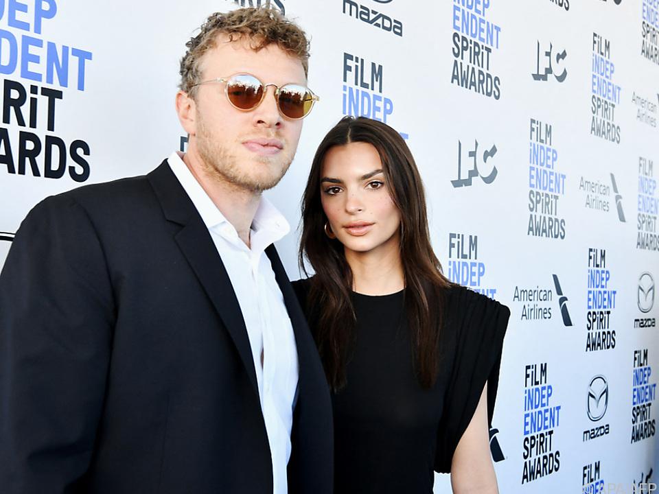 Emily Ratijkowski mit Ehemann Sebastian Bear-McClard (Archivbild)