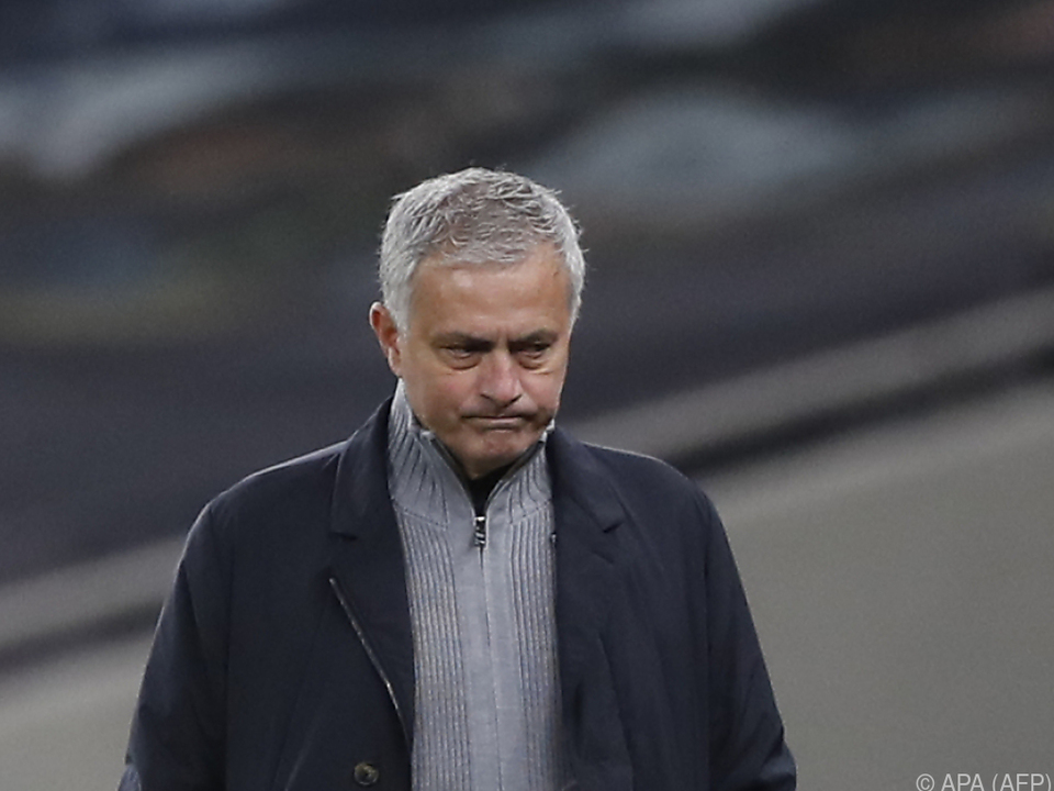 Endstation Zagreb: Starcoach Jose Mourinho hatte nichts zu lachen