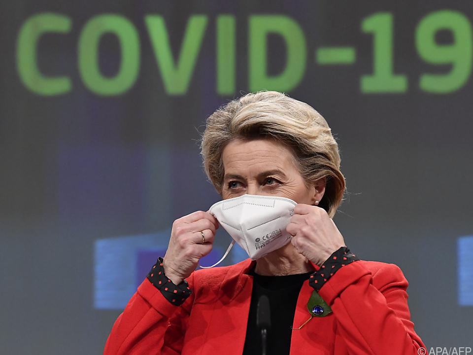 EU-Kommissionschefin will Gerechtigkeit bei Impfstoffexporten