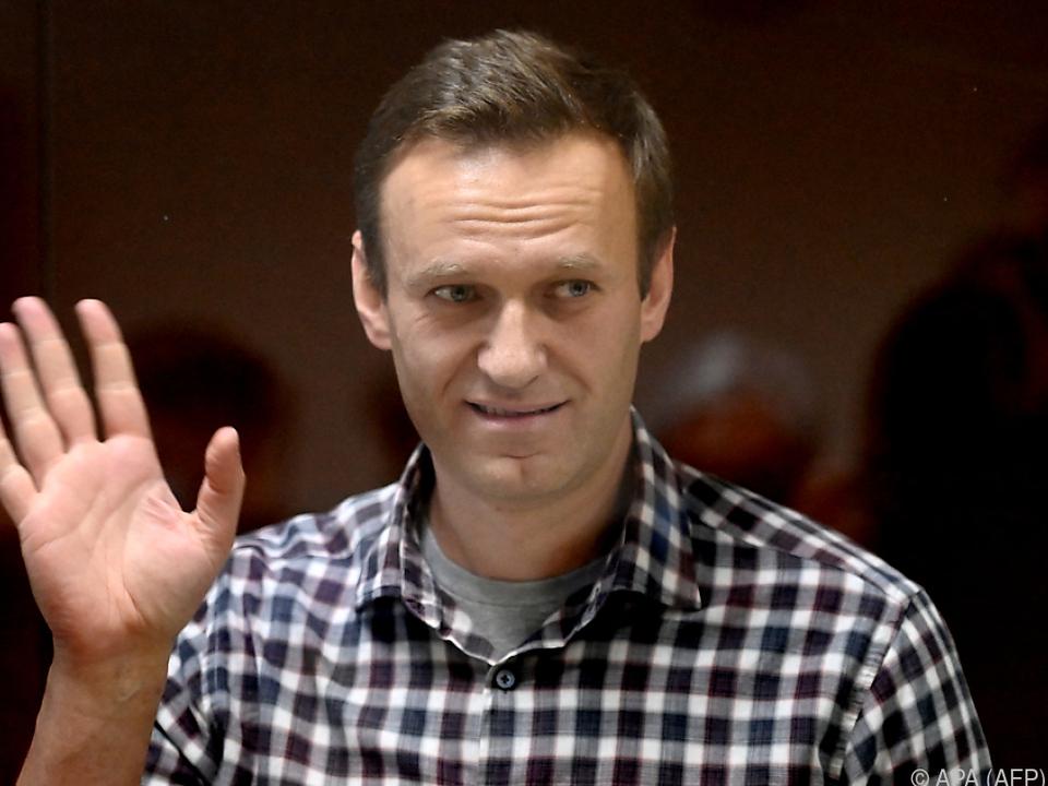 EU und USA stellen sich hinter Nawalny