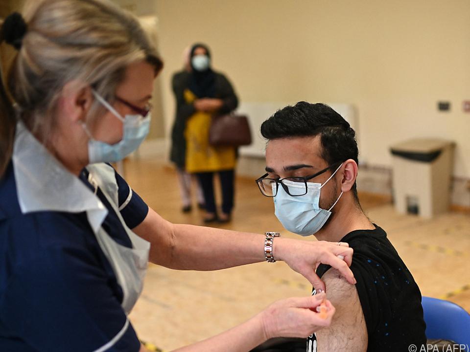 Fast die Hälfte der erwachsenen Bevölkerung teilimmunisiert