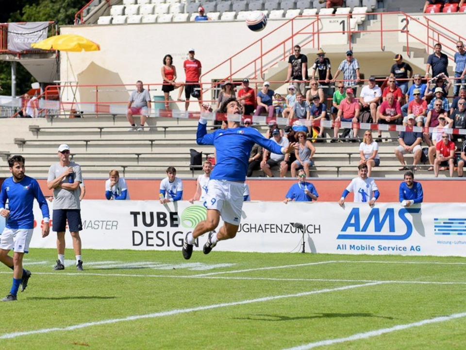 Faustball Italien WM Foto Franz Spiess