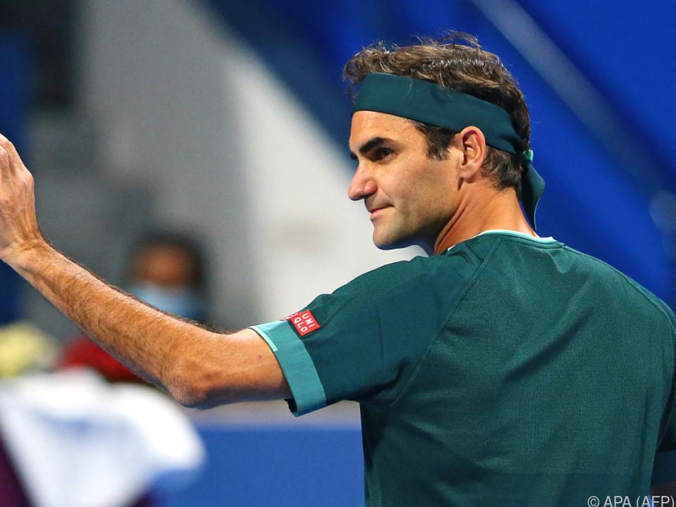 Federer feierte nach 14 Monaten Pause siegreiches Comeback