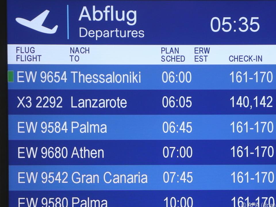 Flüge aus Deutschland nach Mallorca stark gefragt