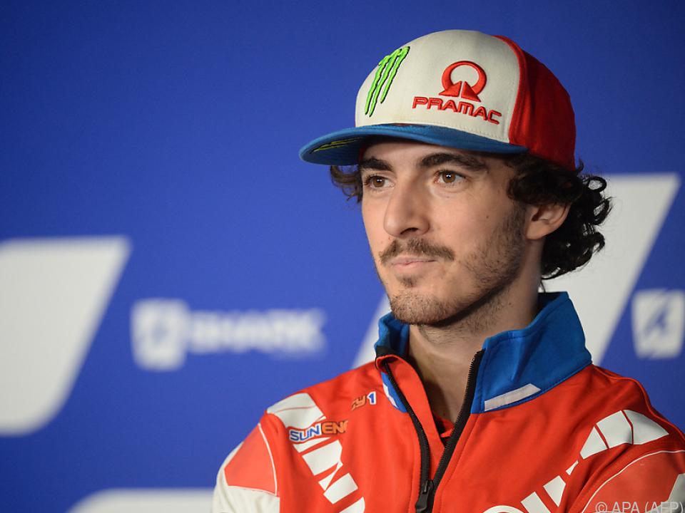 Francesco Bagnaia startet im ersten Saisonrennen aus der \