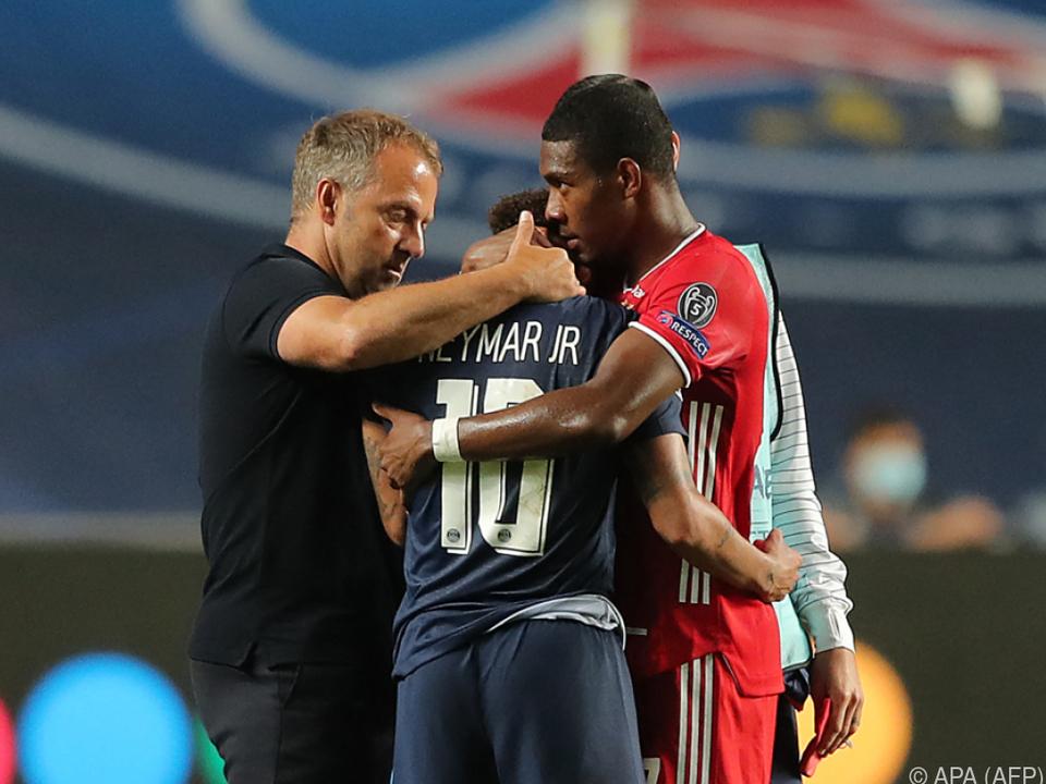 Für Flick und Alaba kommt es zu einem Wiedersehen mit Neymar