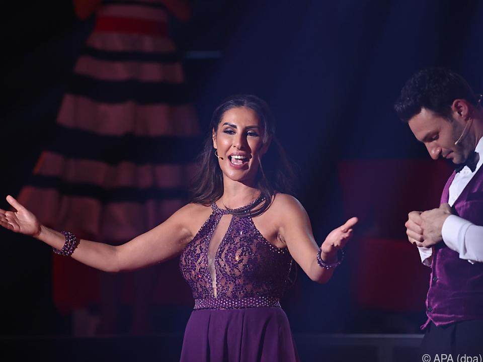 Gammour und Tanzpartner Beitsch mussten die Show verlassen