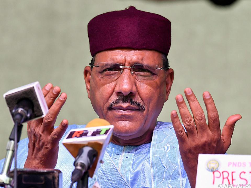 Gegen Mohammed Bazoum als Präsident gibt es Widerstand