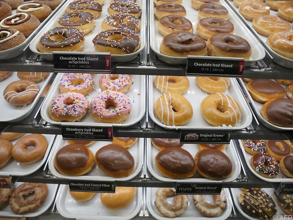 Gratis Krispy-Kreme-Donut für geimpfte Mehlspeisentiger in den USA