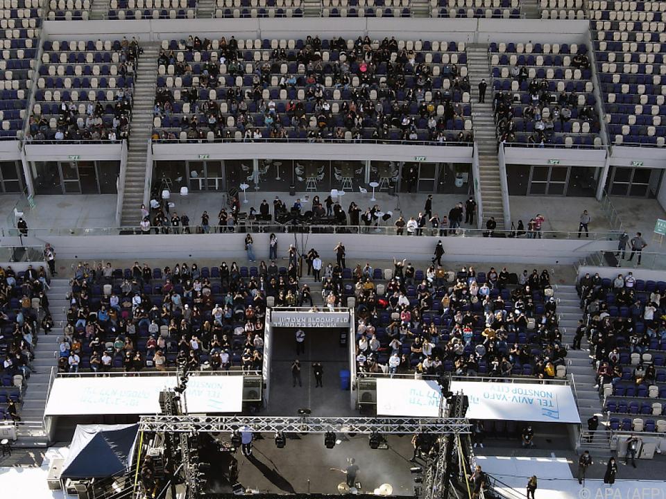 Green Pass-Konzert in Tel Aviv