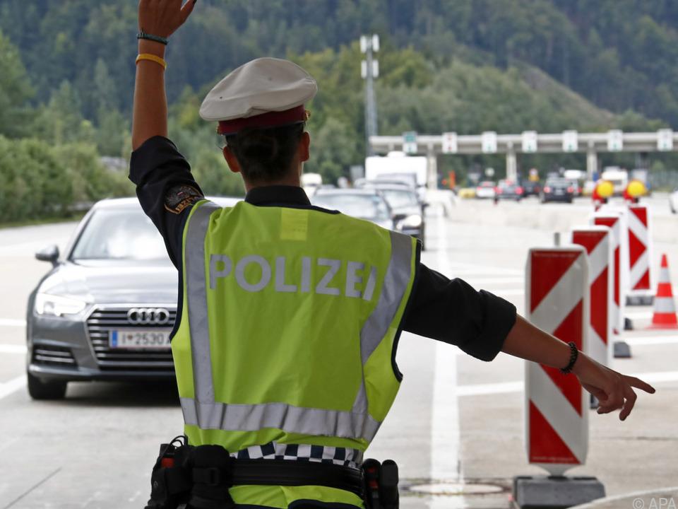 Grenzkontrollen (Archivbild)