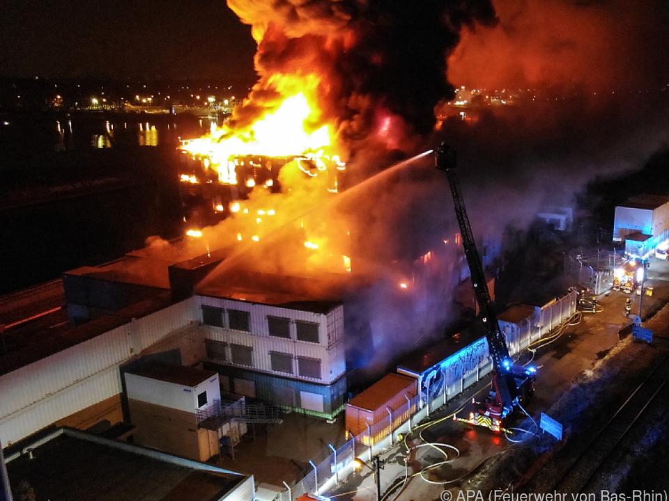 Großbrand beim Cloudanbieter OVHCloud in Straßburg
