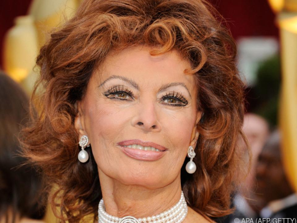 Große Ehre für Sophia Loren